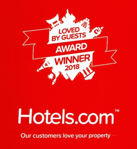 loved by guests award winning