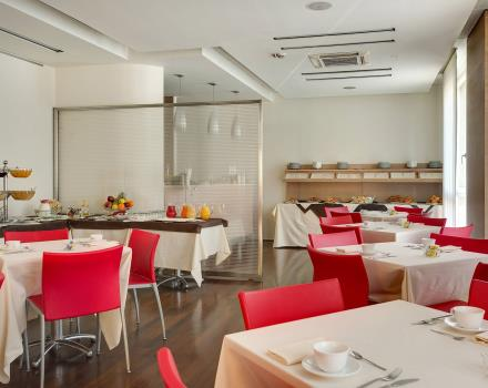 Enjoy a rich breakfast buffet at the BW Hotel San Maco in Siena